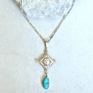 Ouroboros Designs turquoise tortuga necklace